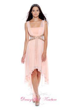 Decode 1.8 181876 Velvet peach #HighLowSkirt #promdress2013 by Decode 1.8