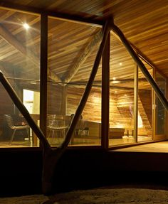Located in Australia's Central Highlands of Victoria, the Trunk House - built as a small weekend cabin for two busy professionals wishing to spend time in nature. Paul Morgan Architects