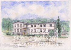 Mansions, House Styles, Painting, Art, Art Background, Manor Houses, Villas, Painting Art, Kunst