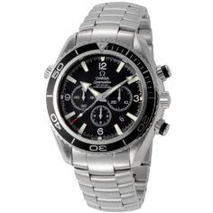 Ladies Watches - OMEGA プラネットオーシャン クロノ 2210.50 ブラック メンズ [並行輸入品] | 最新の時間センター