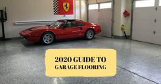 """""""There is absolutely a garage flooring product on the market designed and sold to fit your needs."""" Check out our 2020 guide with the pros AND the cons of our individual products! Best Garage Floor Epoxy, Rubber Garage Flooring, Garage Floor Coatings, Epoxy Floor, Garage Floor Mats, Garage Transformation, Floor Preparation, Tile Floor Diy, Cool Garages"""