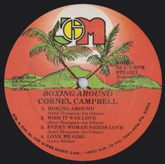 Cornell Campbell - Boxing Round (Label)