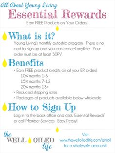 All About Young Living Essential Rewards
