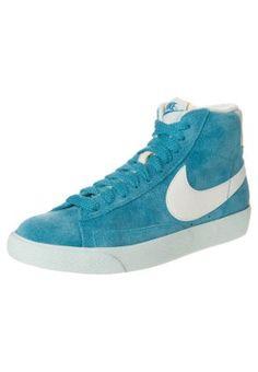 Nike Sportswear - BLAZER - Sneakers hoog - Turquoise