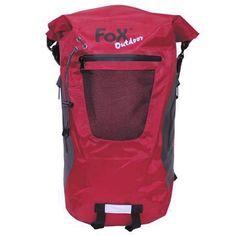 Fox Outdoor Rucksack, DRY PAK 20, rot, wasserdicht / mehr Infos auf: www.Guntia-Militaria-Shop.de