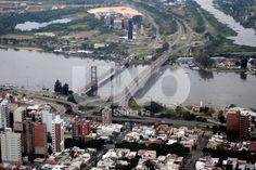 Crecida río Paraná. Costanera Santa Fe. Foto: José Busiemi / Diario UNO de Santa Fe