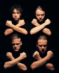Metallica by Mark Seliger -repinned by LA County studio photographer http://LinneaLenkus.com  #portraitphotography
