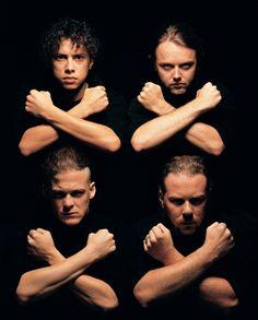 Metallica by Mark Seliger -repinned by LA County studio photographer http://LinneaLenkus.com  #portraitphotography