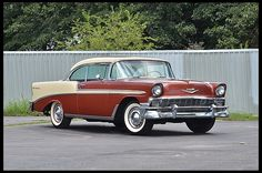 1956 Chevy Bel Air, Chevrolet Bel Air, Chevrolet Impala, Vintage Cars, Antique Cars, American Auto, Trucks And Girls, Us Cars, Amazing Cars
