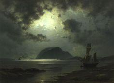 catonhottinroof:    Knud Andreassen Baade Måneskinn, 1867: