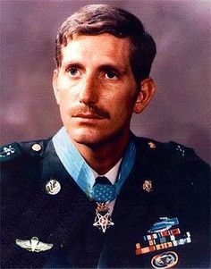 "Franklin Douglas ""Doug"" Miller (1945-2000) as an American and U.S. Army Special Forces staff sergeant during the Vietnam War who was awarded the Medal of Honor for his actions taken on January 5 1970. During his six years service in Southeast Asia he was also awarded a Silver Star two Bronze Stars and six Purple Hearts. The Medal of Honor citation: For conspicuous gallantry and intrepidity in action at the risk of his life above and beyond the call of duty. S/Sgt. Miller 5th Special Forces…"