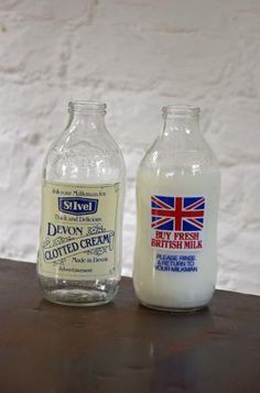 Vintage Advertising Milk Bottles -  from 'Bring It On Home' online store.