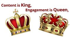 Ziuby-Content is King, Engagement is Queen #Ziuby #Content #SEO #King #Queen http://www.ziuby.com/content-seo-king/