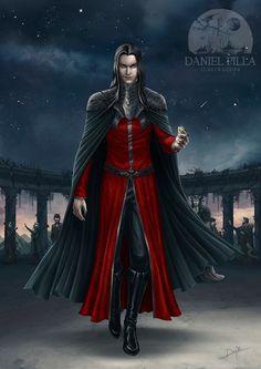 Annatar (Sauron) by DanielPillaArt