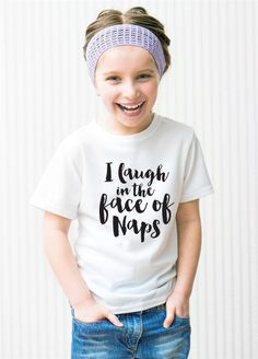 These adorable Graphic Tees are perfect for kids of all ages. Let them show off their sassy sides with these funny statement t-shirts.