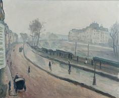 Albert Marquet - Quai des Grands Augustins (1914)