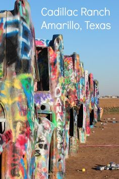 Planning a road trip on or near Rt. 66 in Texas? Amarillo is a must stop town. The Cadillac Ranch is a fun stop. Make sure you pack spray paint, it's the onlyroadside attraction I've encountered where vandalism is encouraged.