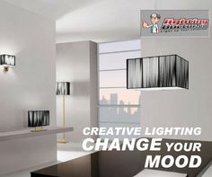 Creative Lighting Change your mood. #LandscapeLighting #LightingDoctor #LightingFixtures www.lightingdoctor.ca