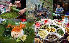Various ethnic Sarawakian food.