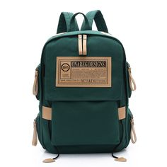 a156cfbcc1 Casual Solid Color Canvas Women Backpack