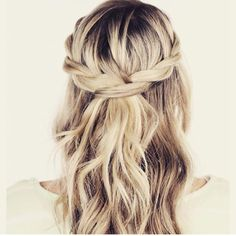 Relaxed plait style