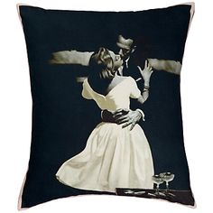 Endless love: Contemporary designs to last a lifetime. Andrew Martin the kiss. #johnlewis #cushion Registering your list is free and easy - simply call or visit your local shop, or go online: www.johnlewisgiftlist.com