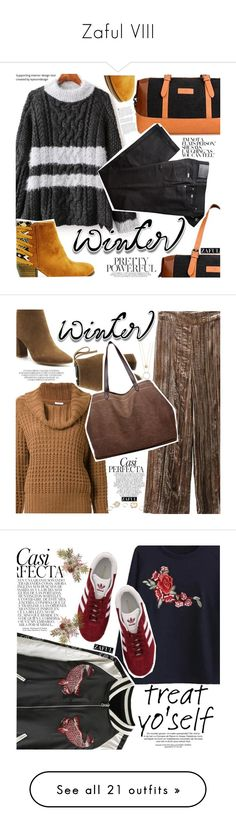 """""""Zaful VIII"""" by vanjazivadinovic ❤ liked on Polyvore featuring zaful, BRAX, sweaterweather, polyvoreeditorial, En Route, Whiteley, Kate Spade, GUESS, adidas and treatyourself"""