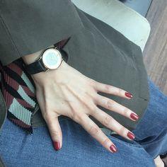i love red nail <3