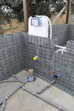 Tecnología de bajo coste que transforma plástico reciclado en ladrillos de construcción