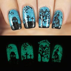 Sunday Stamping - Halloween Nails