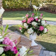 Ceremony Floral Arrangement Real Weddings - In Bliss Weddings