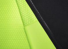 Nike Therma-sphere jacket 'sphere raised-node' technology - spacer thermal design.