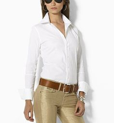 Great pants and white shirt - staple.