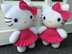 Hello Kitty,Häkeln,Amigrumi,