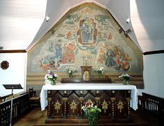 Eglise de la mer à Pénerf, juste au sud du golfe, en Bretagne sud