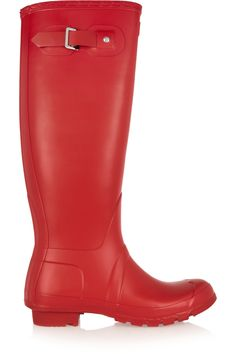 Shop Hunter Original Tall Wellington Boots from stores. On SALE now! Red Rain Boots, Tall Boots, Rubber Rain Boots, Hunter Original, Wellington Boot, Discount Designer Clothes, Hunter Boots, Clothes For Sale, Shoe Bag