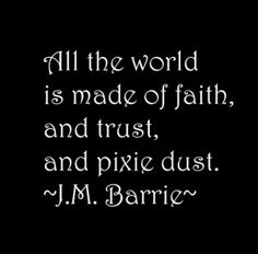 Words - Quotes - J.M. BARRIE