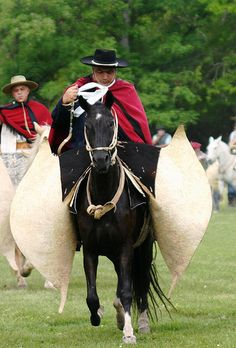 Gauchos Argentinos... quite the horsemen!  This  man is very dashing!