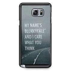 GEBLEG- Twenty One Pilots Samsung Galaxy Note 5 Case Hard Plastic Material with Black Frame Gebleg http://www.amazon.com/dp/B01CWLIWSQ/ref=cm_sw_r_pi_dp_Rmn5wb1BTAQ77