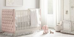 Chesterfield Tufted Nursery Collection | RH Baby & Child