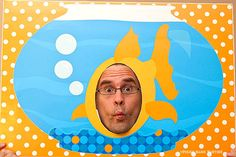 GOLDFISH Photo Booth Poster : DIY Printable Fish Party Activity - Instant Download  10.00 USD  Buy now on Etsy!