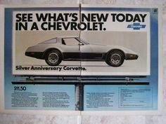 1978 Corvette Advertisement 2 page