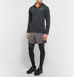 <b><a href='http://www.mrporter.com/mens/Designers/Nike_Running'>Nike Running</a>'s innovative designs keep you comfortable during all types of conditions.</b> - This 'Therma Sphere Element' top is made from Dri-Fit to wick moisture as you exercise - The specialised Therma Sphere fabric has a quilted brushed back and offers lightweight warmth while managing body heat - The extended sleeves are designed to fold...