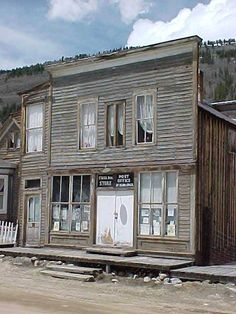 St Elmo, Colorado Ghost Town. There was an old lady that lived here and she had many years of rotted material in her hair. JKR                                                                                                                                                      More
