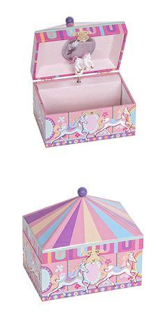 Mele & Co. Edie Girl's Musical Jewelry Box