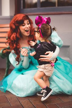 So I was looking through Disney stuff, and I saw this. You could be Ariel at Disney if you wanted! Disney Nerd, Disney Love, Disney Magic, Walt Disney World, Disney Pixar, Disney Fairies, Disney Stuff, Manga Anime, Disney Parque