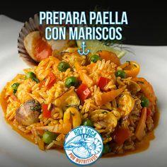 ¡Hoy toca! preparar paella con mariscos.  https://www.facebook.com/hoytocan/photos/a.1036004696417036.1073741828.1028646237152882/1228128043871366/?type=1&theater  #hoytoca #conapesca #paella #mariscos #receta