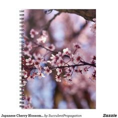 Japanese Cherry Blossom Tree Journals