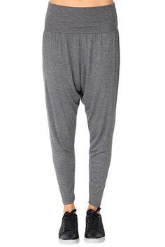 Grey Harem Pants at Blush Boutique Miami - ShopBlush.com
