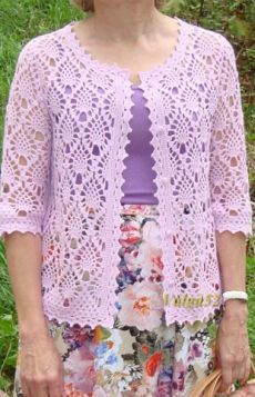 Fabulous Crochet a Little Black Crochet Dress Ideas. Georgeous Crochet a Little Black Crochet Dress Ideas. Crochet Bolero Pattern, Gilet Crochet, Crochet Coat, Crochet Tunic, Crochet Clothes, Crochet Lace, Crochet Vests, Vest Pattern, Knitting Pullover